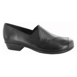 MUNRO Loafer Shoes Cheryl Black Gunmetal Grey 12N